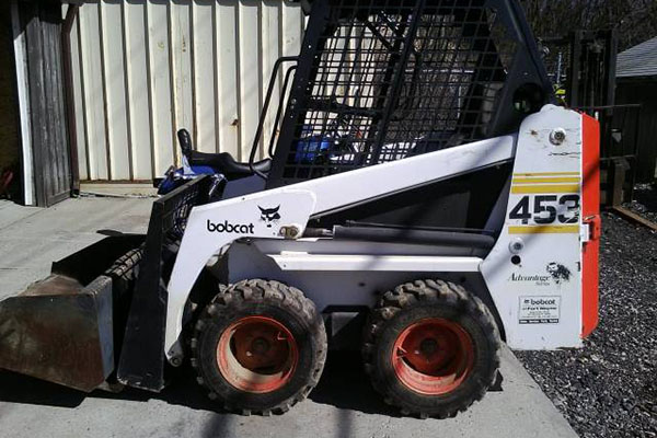 First Bobcat Skid Steer, Model 453